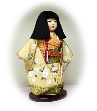 思い出の市松人形
