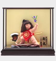 武者人形 裸金太 鉞(裸)