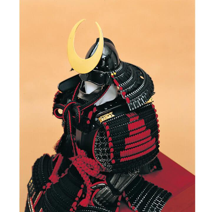 王者胴丸飾り 正絹黒糸縅10号 ワダエミ監修 宗光監製 70GC-08_2