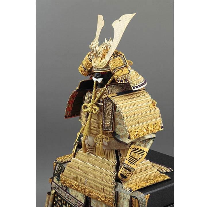 大鎧飾り 正絹緋縅15号  71GC-25_2