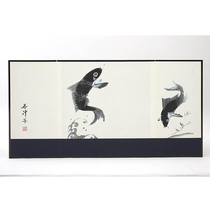 王者之兜飾り 正絹黒糸縅 ワダエミ監修 宗光監製 71GC-10_3