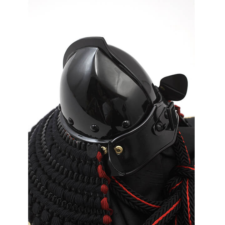 王者之兜飾り 正絹黒糸縅 ワダエミ監修 宗光監製 71GC-10_2