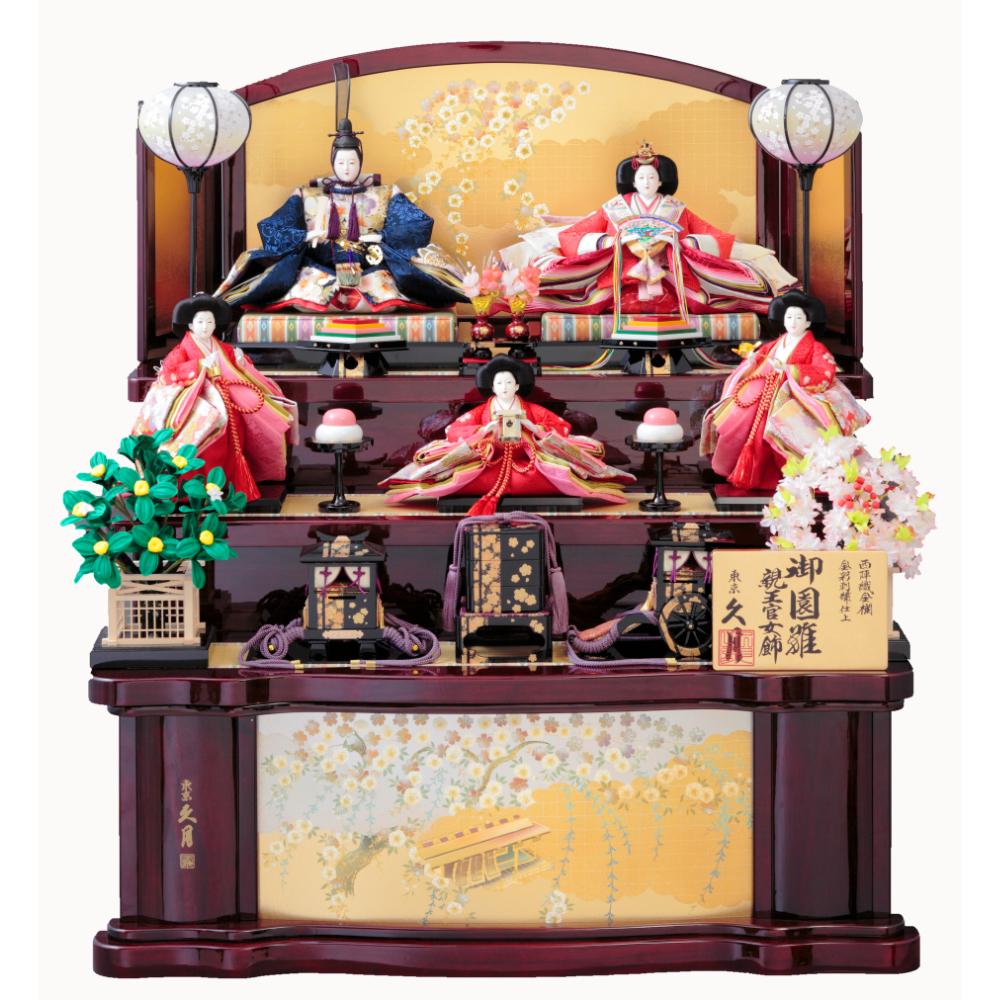 木製五人飾り 70HC-22_1