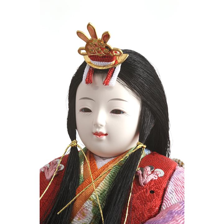 木目込ほのか 収納五人飾り(虹彩) 71HC-32_3