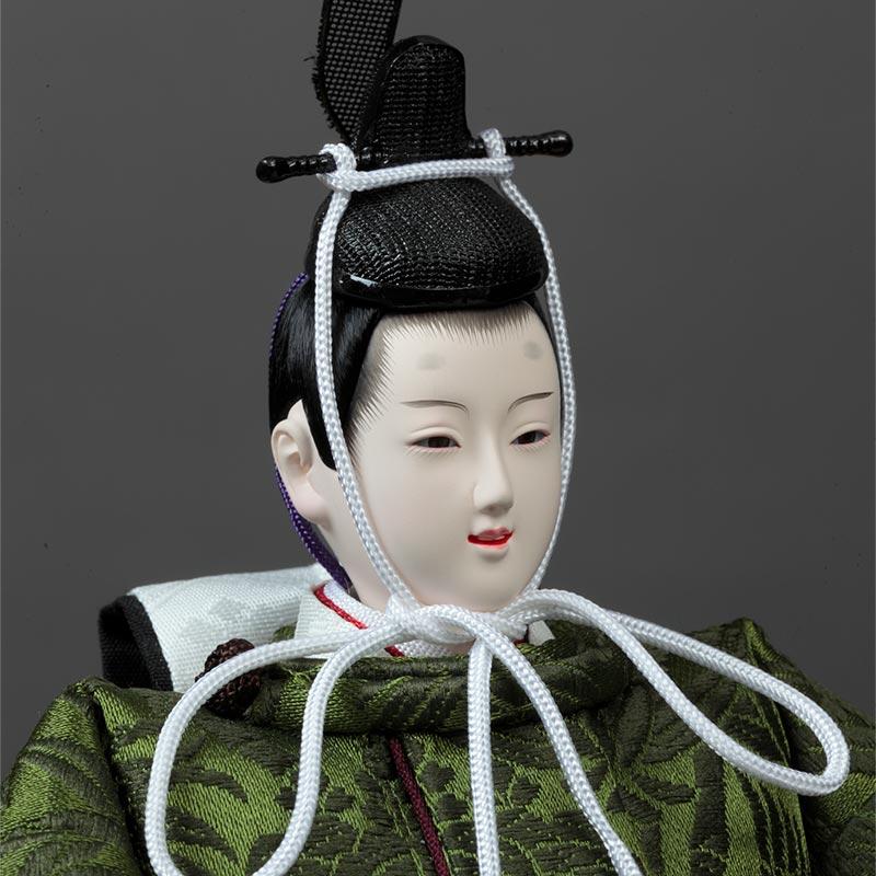 ホワイトオーク 収納親王飾り 71HC-07_2