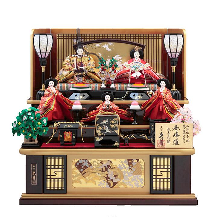 木製五人飾り 71HC-27