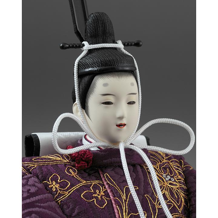 三色菫 親王飾り 71HC-46_2