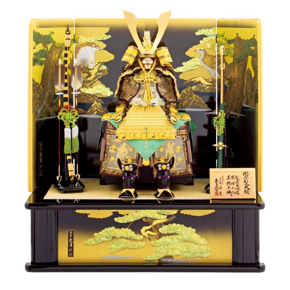 彫金仁王大鎧飾り 151J1