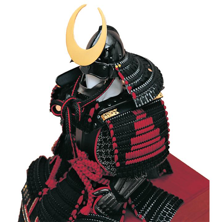 王者胴丸飾り 正絹黒糸縅10号 ワダエミ監修 宗光監製 71GC-09_2