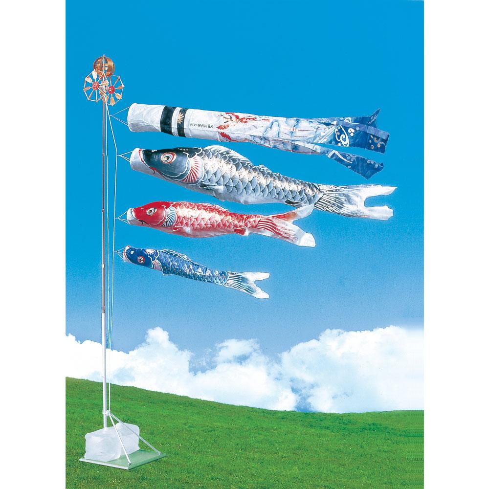 四神鯉 スタンドセット1.2M D-100